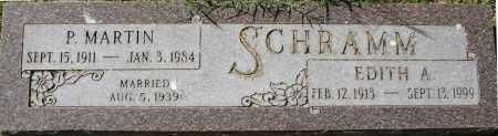 SCHRAMM, EDITH A - Maricopa County, Arizona   EDITH A SCHRAMM - Arizona Gravestone Photos
