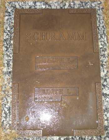 SCHRAMM, EDITH L. - Maricopa County, Arizona | EDITH L. SCHRAMM - Arizona Gravestone Photos