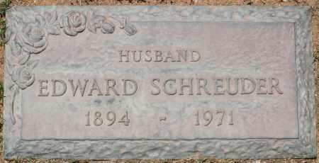 SCHREUDER, EDWARD - Maricopa County, Arizona | EDWARD SCHREUDER - Arizona Gravestone Photos