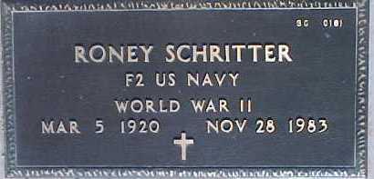 SCHRITTER, RONEY - Maricopa County, Arizona | RONEY SCHRITTER - Arizona Gravestone Photos