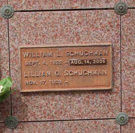 SCHUCHMAN, LILLIAN O. - Maricopa County, Arizona   LILLIAN O. SCHUCHMAN - Arizona Gravestone Photos