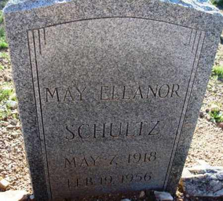 SCHULTZ, MAY ELEANOR - Maricopa County, Arizona | MAY ELEANOR SCHULTZ - Arizona Gravestone Photos