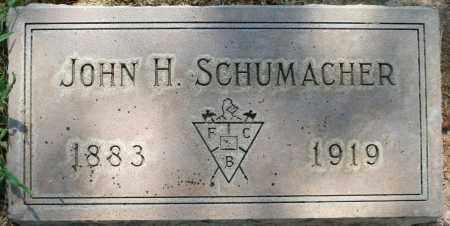 SCHUMACHER, JOHN H. - Maricopa County, Arizona | JOHN H. SCHUMACHER - Arizona Gravestone Photos