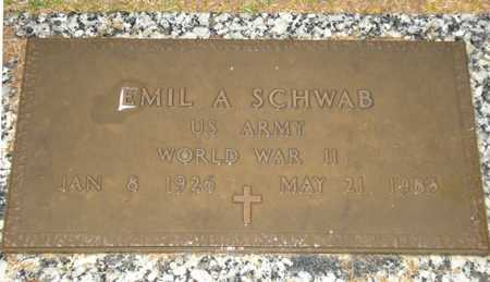 SCHWAB, EMIL A. - Maricopa County, Arizona | EMIL A. SCHWAB - Arizona Gravestone Photos