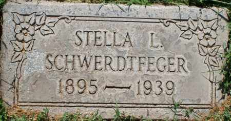 SCHWERDTFEGER, STELLA L. - Maricopa County, Arizona | STELLA L. SCHWERDTFEGER - Arizona Gravestone Photos