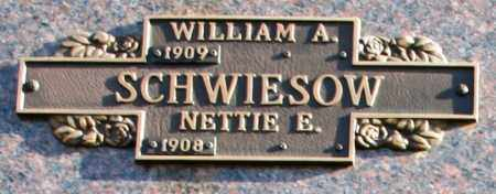 SCHWIESOW, NETTIE E - Maricopa County, Arizona | NETTIE E SCHWIESOW - Arizona Gravestone Photos