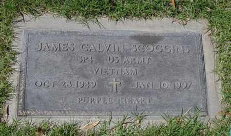 SCOGGINS, JAMES CALVIN - Maricopa County, Arizona | JAMES CALVIN SCOGGINS - Arizona Gravestone Photos