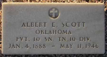 SCOTT, ALBERT E. - Maricopa County, Arizona | ALBERT E. SCOTT - Arizona Gravestone Photos