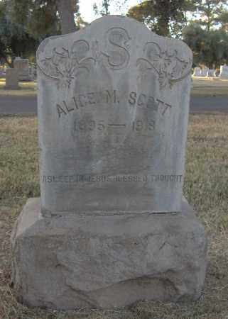 SUTTER SCOTT, ALICE MARY - Maricopa County, Arizona | ALICE MARY SUTTER SCOTT - Arizona Gravestone Photos