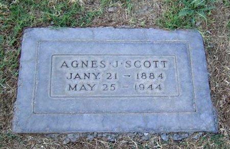 SCOTT, AGNES J. - Maricopa County, Arizona | AGNES J. SCOTT - Arizona Gravestone Photos