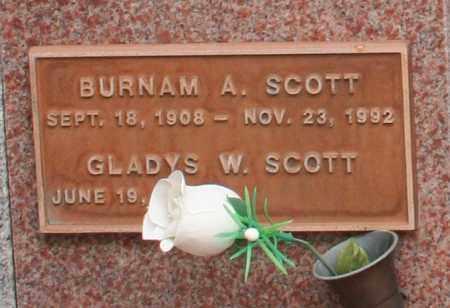 SCOTT, GLADYS W. - Maricopa County, Arizona | GLADYS W. SCOTT - Arizona Gravestone Photos