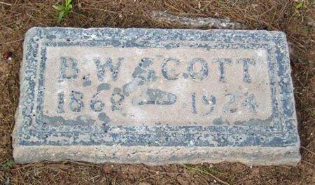 SCOTT, B. W. - Maricopa County, Arizona | B. W. SCOTT - Arizona Gravestone Photos