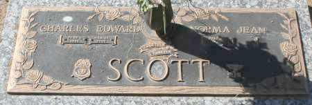SCOTT, CHARLES EDWARD - Maricopa County, Arizona | CHARLES EDWARD SCOTT - Arizona Gravestone Photos