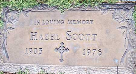SCOTT, HAZEL - Maricopa County, Arizona | HAZEL SCOTT - Arizona Gravestone Photos
