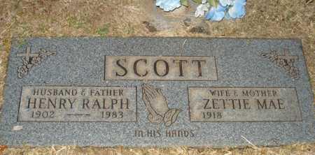 SCOTT, HENRY RALPH - Maricopa County, Arizona | HENRY RALPH SCOTT - Arizona Gravestone Photos