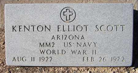 SCOTT, KENTON ELLIOT - Maricopa County, Arizona | KENTON ELLIOT SCOTT - Arizona Gravestone Photos