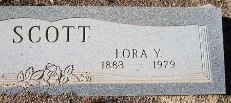 SCOTT, LORA Y. - Maricopa County, Arizona | LORA Y. SCOTT - Arizona Gravestone Photos