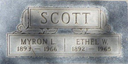 SCOTT, MYRON LESLIE - Maricopa County, Arizona   MYRON LESLIE SCOTT - Arizona Gravestone Photos