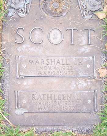 SCOTT, MARSHALL, JR. - Maricopa County, Arizona | MARSHALL, JR. SCOTT - Arizona Gravestone Photos