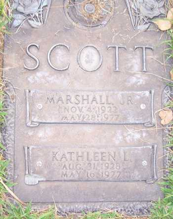 SCOTT, KATHLEEN L. - Maricopa County, Arizona | KATHLEEN L. SCOTT - Arizona Gravestone Photos