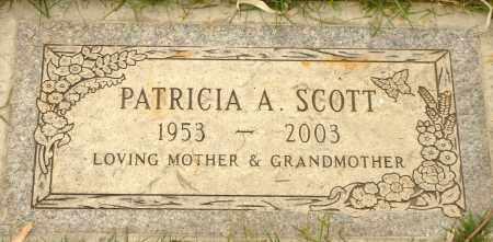 SCOTT, PATRICIA A. - Maricopa County, Arizona   PATRICIA A. SCOTT - Arizona Gravestone Photos