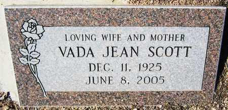 SCOTT, VADA JEAN - Maricopa County, Arizona | VADA JEAN SCOTT - Arizona Gravestone Photos
