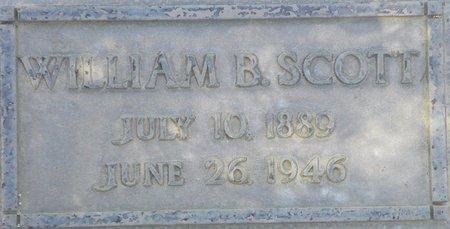 SCOTT, WILLIAM B - Maricopa County, Arizona | WILLIAM B SCOTT - Arizona Gravestone Photos