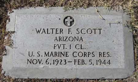 SCOTT, WALTER F. - Maricopa County, Arizona | WALTER F. SCOTT - Arizona Gravestone Photos