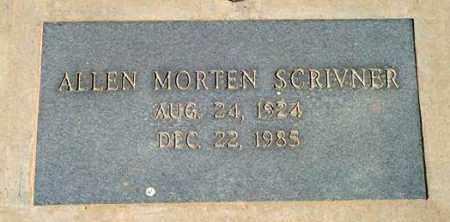 SCRIVNER, ALLEN MORTEN - Maricopa County, Arizona | ALLEN MORTEN SCRIVNER - Arizona Gravestone Photos