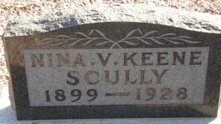 SCULLY, NINA V. KEENE - Maricopa County, Arizona | NINA V. KEENE SCULLY - Arizona Gravestone Photos