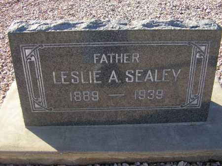 SEALEY, LESLIE A. - Maricopa County, Arizona | LESLIE A. SEALEY - Arizona Gravestone Photos