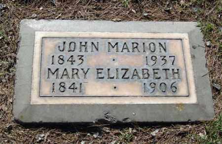 SEARS, JOHN MARION - Maricopa County, Arizona | JOHN MARION SEARS - Arizona Gravestone Photos