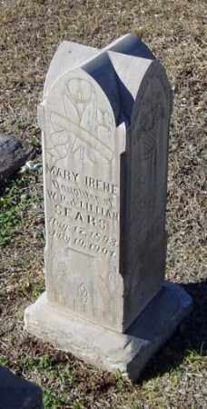 SEARS, MARY IRENE - Maricopa County, Arizona | MARY IRENE SEARS - Arizona Gravestone Photos