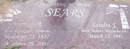 SEARS, NORMAN A. - Maricopa County, Arizona | NORMAN A. SEARS - Arizona Gravestone Photos