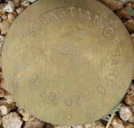 SEBASTIAN, CESAREO - Maricopa County, Arizona | CESAREO SEBASTIAN - Arizona Gravestone Photos