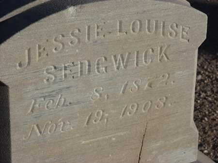 SEDGWICK, JESSIE LOUISE - Maricopa County, Arizona | JESSIE LOUISE SEDGWICK - Arizona Gravestone Photos