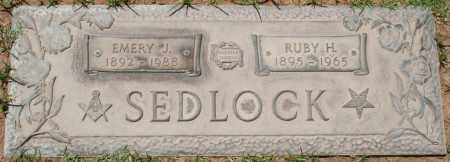 SEDLOCK, RUBY H. - Maricopa County, Arizona | RUBY H. SEDLOCK - Arizona Gravestone Photos