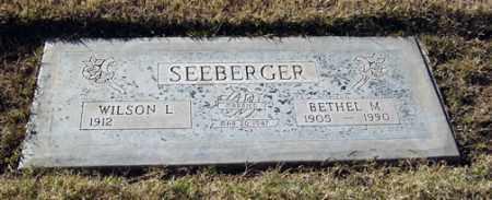 SEEBERGER, WILSON L. - Maricopa County, Arizona | WILSON L. SEEBERGER - Arizona Gravestone Photos