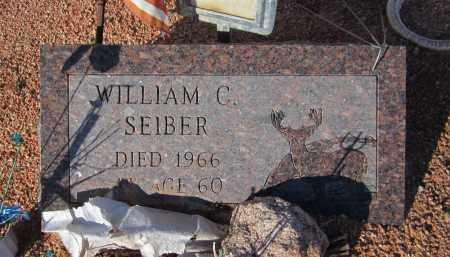 SEIBER, WILLIAM C. - Maricopa County, Arizona | WILLIAM C. SEIBER - Arizona Gravestone Photos
