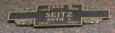 SEITZ, FRED H - Maricopa County, Arizona | FRED H SEITZ - Arizona Gravestone Photos