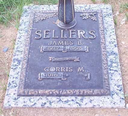 SELLERS, JAMES B. - Maricopa County, Arizona | JAMES B. SELLERS - Arizona Gravestone Photos