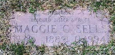SELLS, MAGGIE C. - Maricopa County, Arizona | MAGGIE C. SELLS - Arizona Gravestone Photos