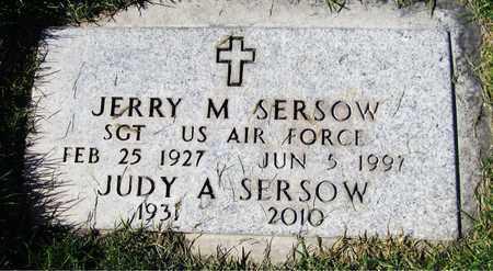 SERSOW, JUDY A. - Maricopa County, Arizona   JUDY A. SERSOW - Arizona Gravestone Photos