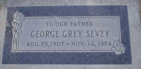 SEVEY, GEORGE GREY - Maricopa County, Arizona | GEORGE GREY SEVEY - Arizona Gravestone Photos