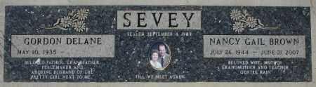 SEVEY, NANCY GAIL - Maricopa County, Arizona | NANCY GAIL SEVEY - Arizona Gravestone Photos