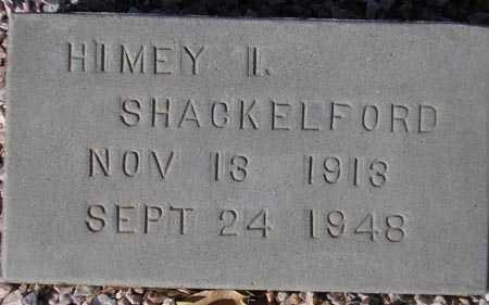 SHACKELFORD, HIMEY I. - Maricopa County, Arizona | HIMEY I. SHACKELFORD - Arizona Gravestone Photos