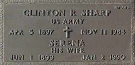 SHARP, CLINTON R. - Maricopa County, Arizona | CLINTON R. SHARP - Arizona Gravestone Photos