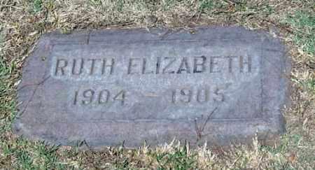 SHARP, RUTH ELIZABETH - Maricopa County, Arizona | RUTH ELIZABETH SHARP - Arizona Gravestone Photos