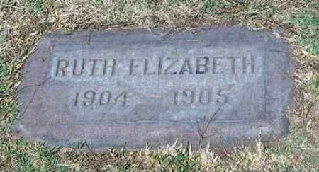 SHARP, RUTH ELIZABETH - Maricopa County, Arizona | RUTH ELIZABETH SHARP - Arizona Gravestone Photos