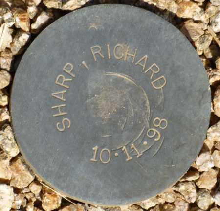 SHARP, RICHARD - Maricopa County, Arizona   RICHARD SHARP - Arizona Gravestone Photos